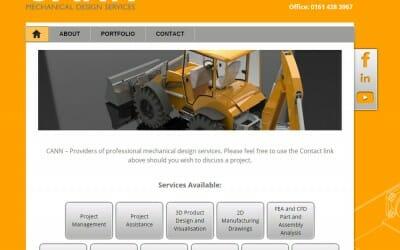 Website Design: Cann Engineering