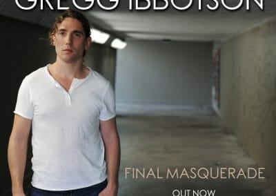 Gregg Ibbotson – Final Masquerade Album Cover